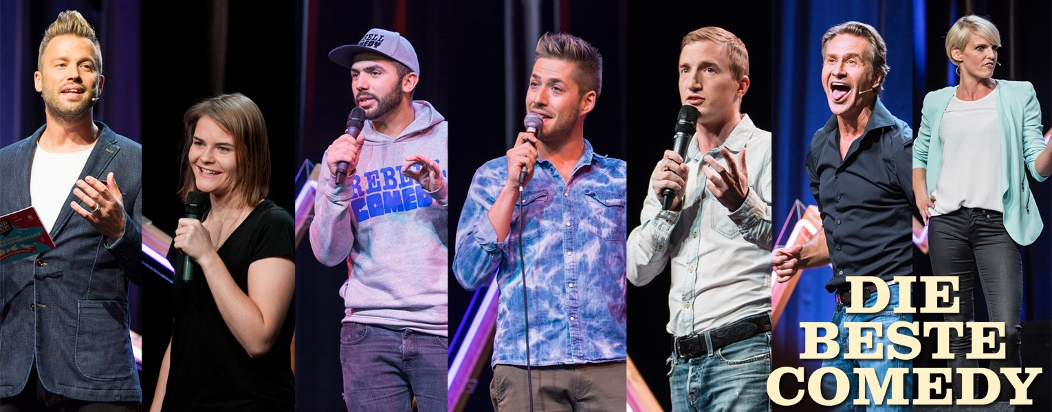 Stand Up Comedy Beste Comedians Banner 3