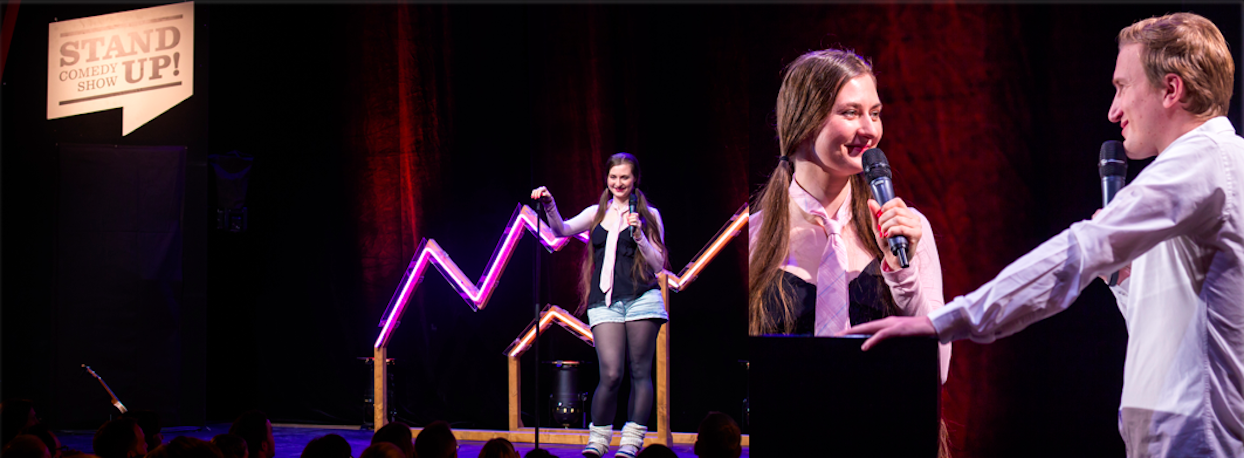 Kati Rausch Newcomer Stand UP Comedy Show