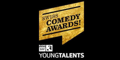 Swiss Comedy Awards 2018 SCA best Comedians Switzerland Logo SCAYoung Talents black